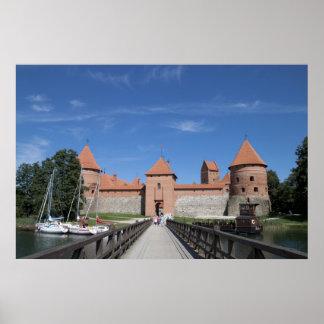 Poster del castillo de Trakai