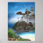 Poster del castillo del dragón