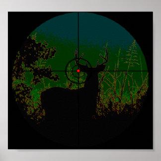 Poster del cazador de la noche