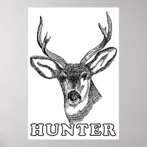 Poster del cazador de los ciervos