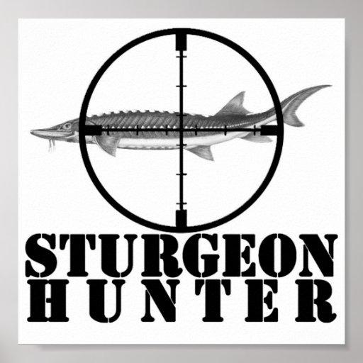 Poster del cazador del esturión