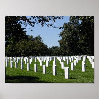 Poster del cementerio de Arlington