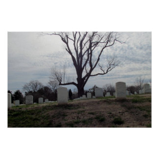 Poster del cementerio nacional de Nashville