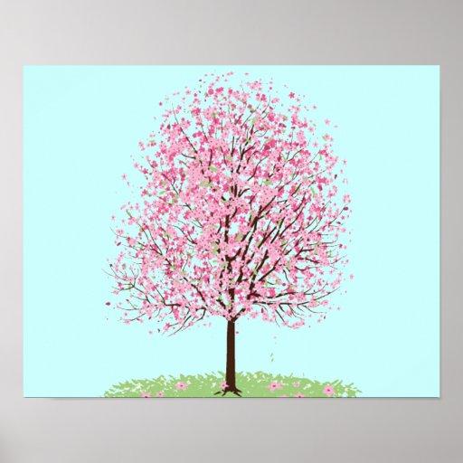 Poster del cerezo