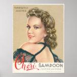 Poster del champú de Cheri