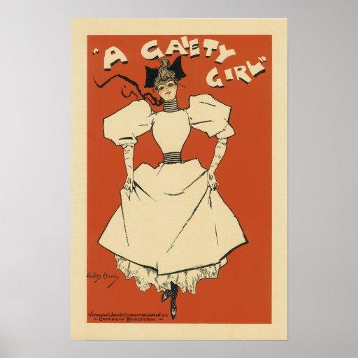 Poster del chica de la alegría