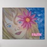 Poster del chica de la fe