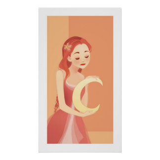 poster del chica de la luna