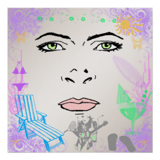 Poster del chica del verano