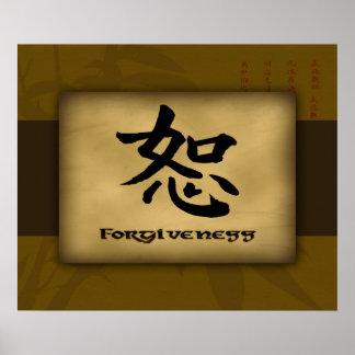 Poster del chino del perdón