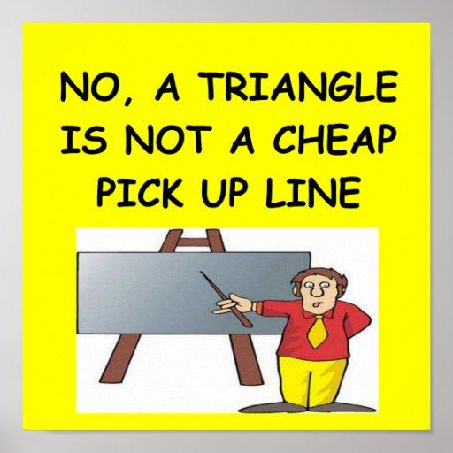 poster del chiste del friki de la matemáticas