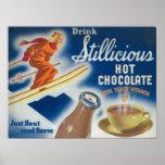 Poster del chocolate caliente de Stillicious