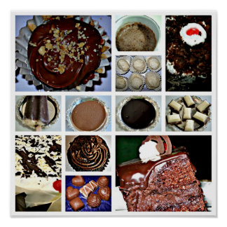 Poster del chocolate póster