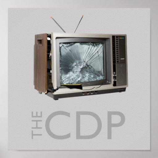 Poster del choque TV del CDP
