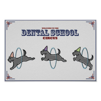 "Poster del ""circo dental"""