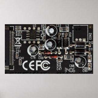 poster del circuito integrado