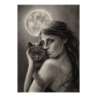 Poster del claro de luna póster