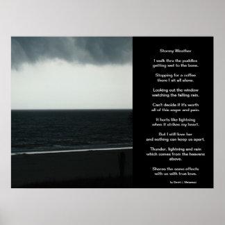 Poster del clima tempestuoso