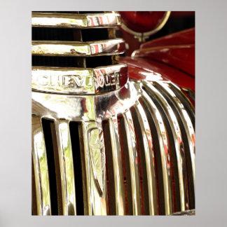 Poster del coche de bomberos