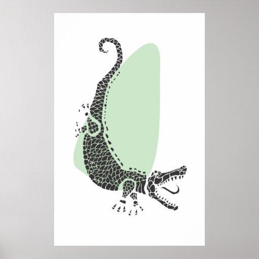 Poster del cocodrilo