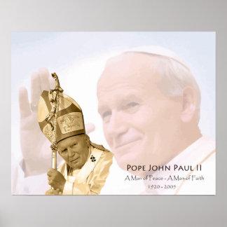 Poster del collage de Juan Pablo II