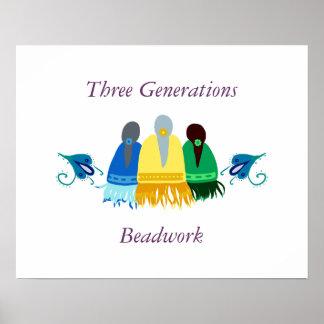 Poster del collar de tres generaciones
