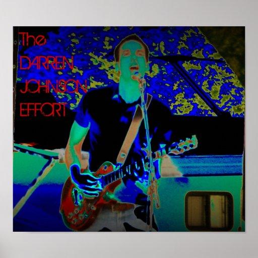 """Poster del color de DJE (17"""" x15"""" o 12"""" x11"""")"""