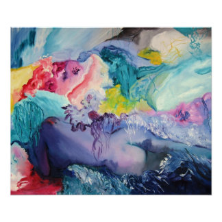 Poster del color del surrealismo