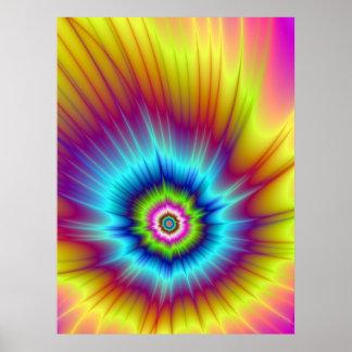 Poster del cometa del arco iris