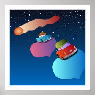 Poster del cometa póster