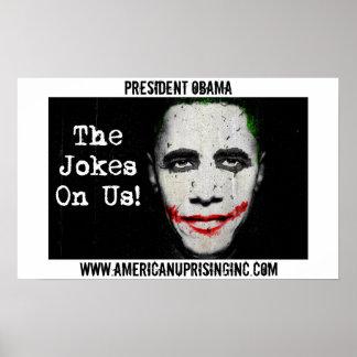 Poster del comodín de Obama AUI