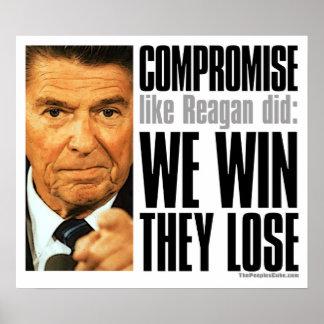 Poster del compromiso de Reagan