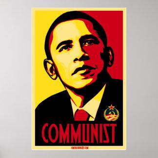 Poster del comunista de Americana83 Obama