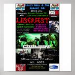Poster del concierto de Loserfest
