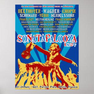 Poster del concierto de Sonatapalooza 1827
