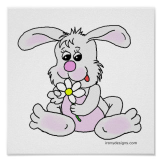 Poster del conejo de conejito