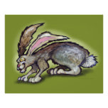 Poster del conejo de Jack