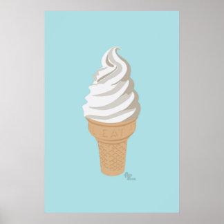 Poster del cono del Softy