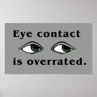 Poster del contacto visual