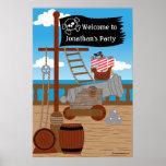 Poster del contexto del fiesta del pirata