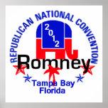 Poster del convenio de Romney
