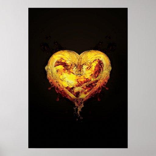 Poster del corazón
