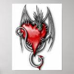 Poster del corazón del dragón