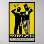 Poster del corporatismo