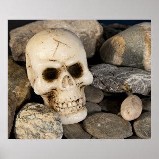 Poster del cráneo