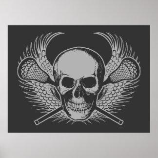 Poster del cráneo de LaCrosse