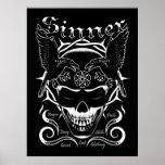 Poster del cráneo del pecador