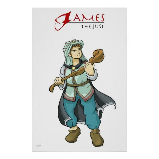 Poster del cristiano de James del apóstol