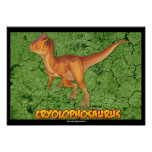 Poster del Cryolophosaurus Póster