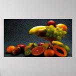 Poster del cuenco de fruta